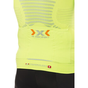 X-Bionic Effektor Power Biking Jersey SS Full-Zip Men green lime/pearl grey